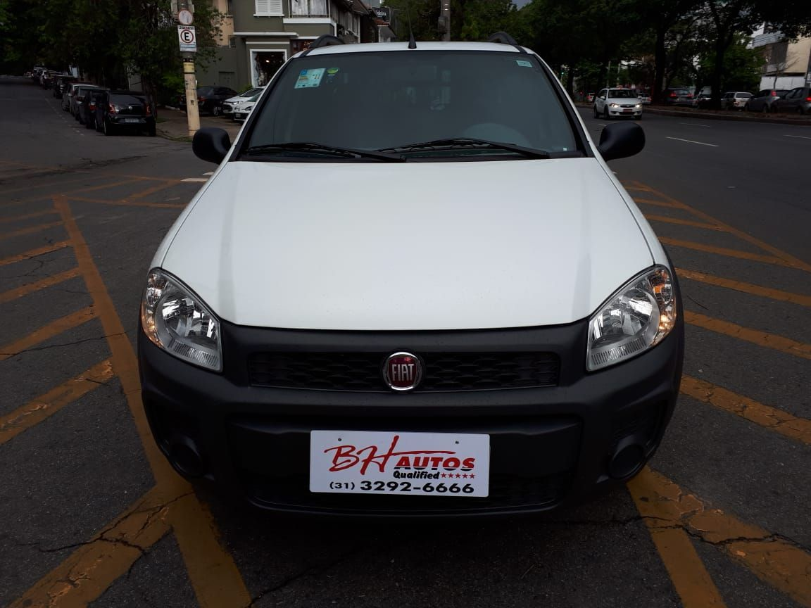 FIAT STRADA 1.4 HARD WORKING CAB DUPLA 2018